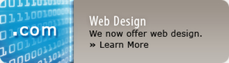 We now offer web design and web development.